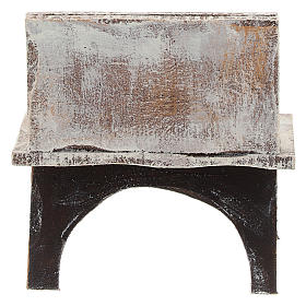 Table avec outils barbier crèche 10 cm s4