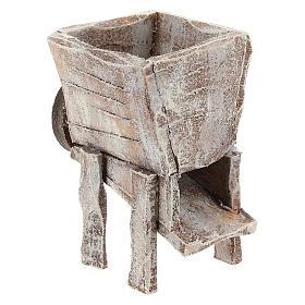 Pressoir pour raisins bois crèche 10 cm s3