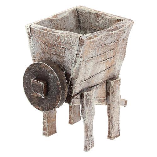 Pressoir pour raisins bois crèche 10 cm 4