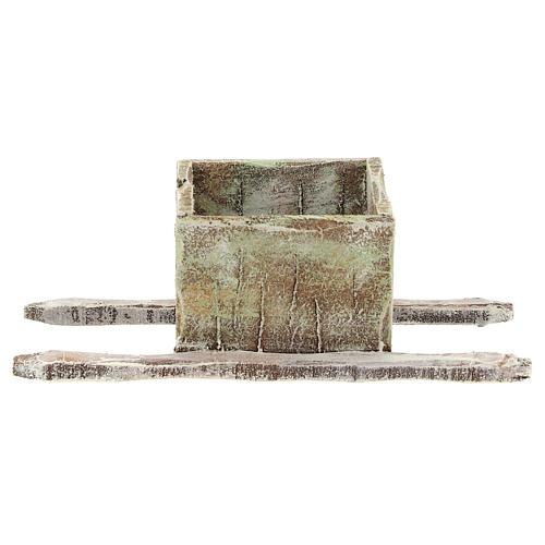 Bassine foulage raisin en bois crèche 12 cm 1