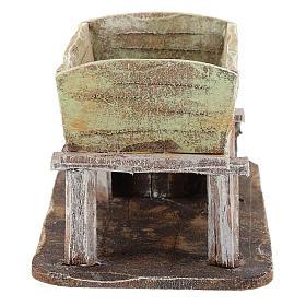 Grape-pressing vat for 12 cm Nativity scene s4