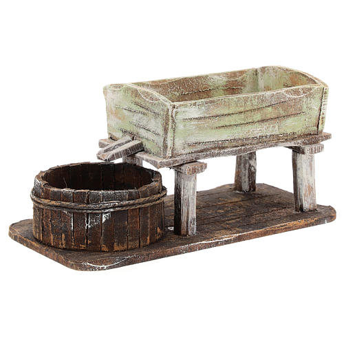 Grape-pressing vat for 12 cm Nativity scene 2