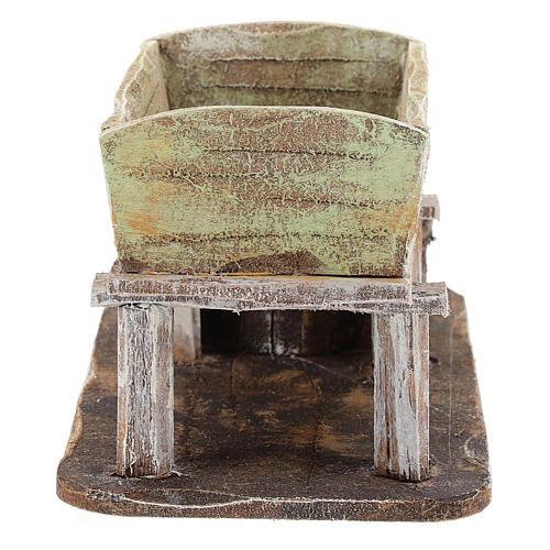 Grape-pressing vat for 12 cm Nativity scene 4