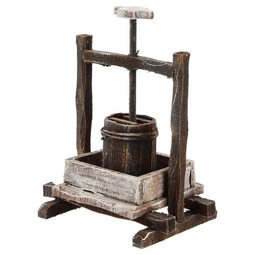 Winepress for 12 cm Nativity scene 2