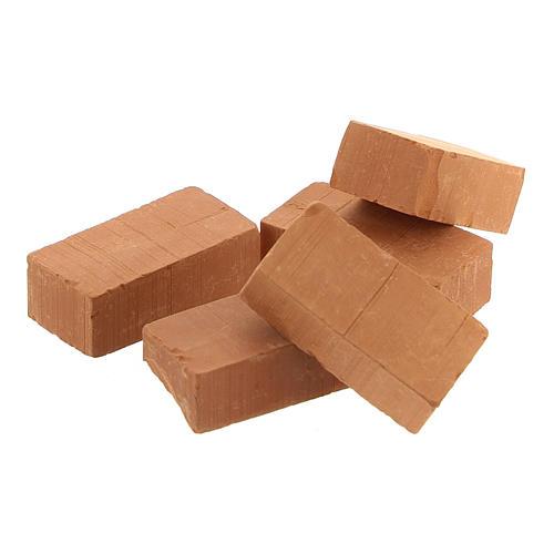 Terracotta bricks for DIY Nativity Scene 2