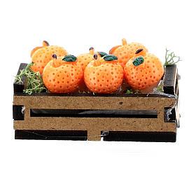 Caja de naranjas madera para belén 10-16 cm s1