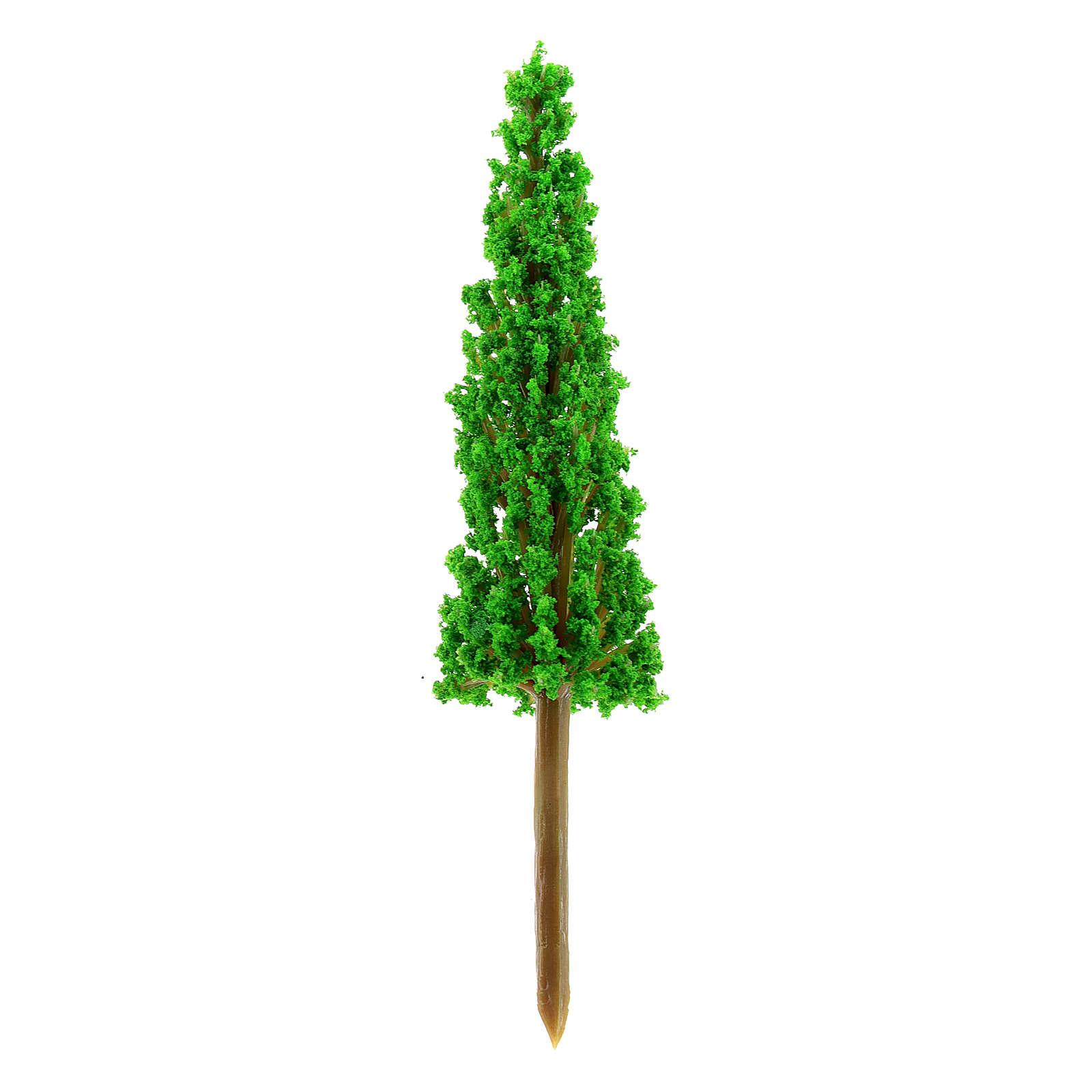 Cypress in plastic Moranduzzo for 4-8 cm Nativity scene 4