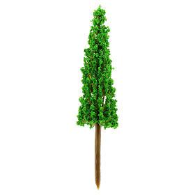 Cypress in plastic Moranduzzo for 4-8 cm Nativity scene s1
