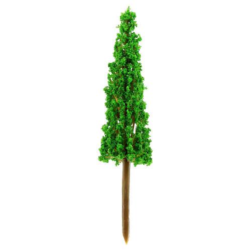 Cypress in plastic Moranduzzo for 4-8 cm Nativity scene 1