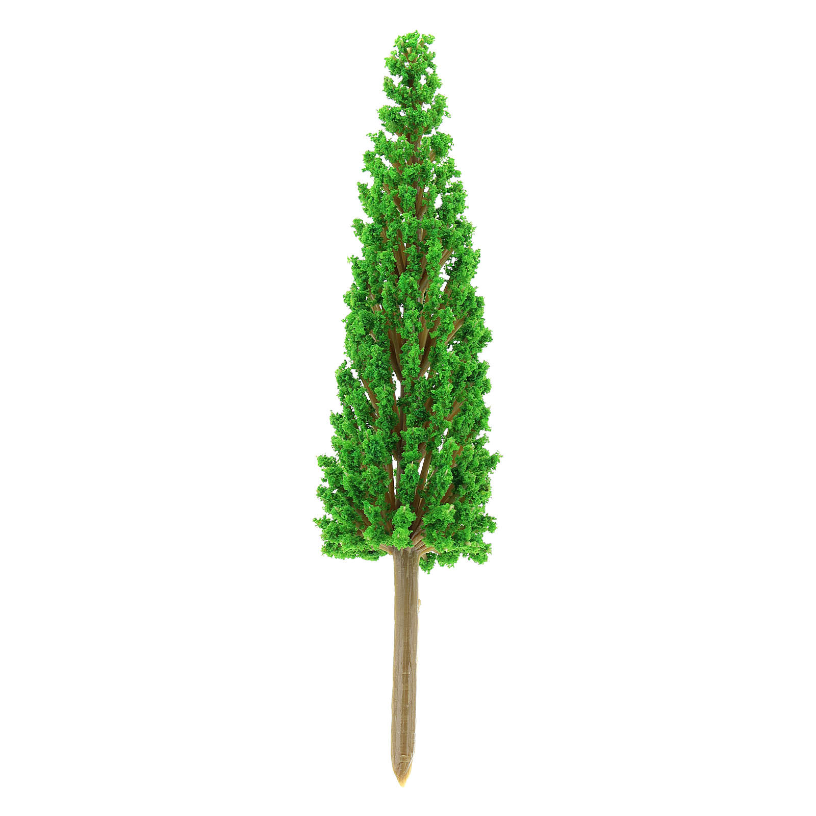 Cypress tree in plastic Moranduzzo for 4-8 cm Nativity scene 4