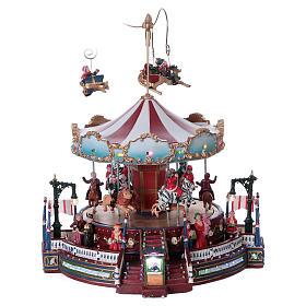 Winter moving merry-go-round 25x30x25 cm s1