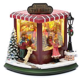 weihnachtlicher Spielzeugladen, 20x25x15 cm s2