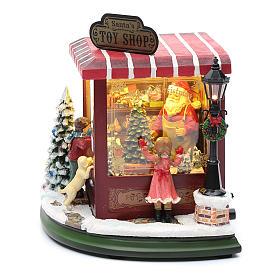 weihnachtlicher Spielzeugladen, 20x25x15 cm s3