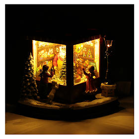 weihnachtlicher Spielzeugladen, 20x25x15 cm s5