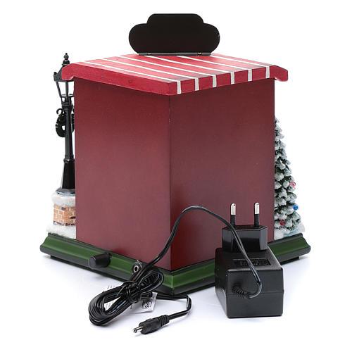 Negozio di giocattoli natalizi 20x25x15 cm 6