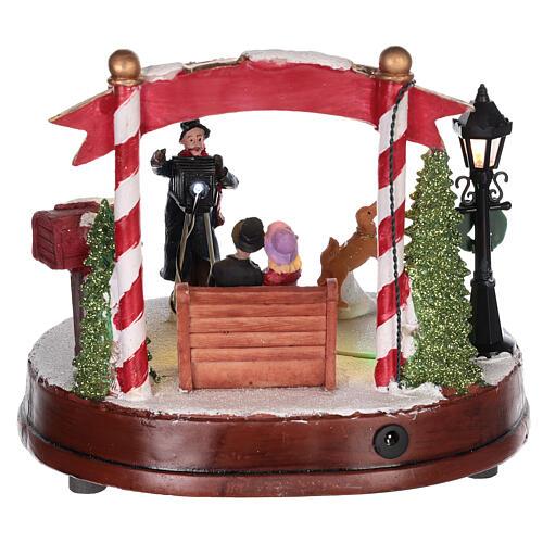 Scenka do bożonarodzeniowego miasteczka: fotograf 15x20 cm 5