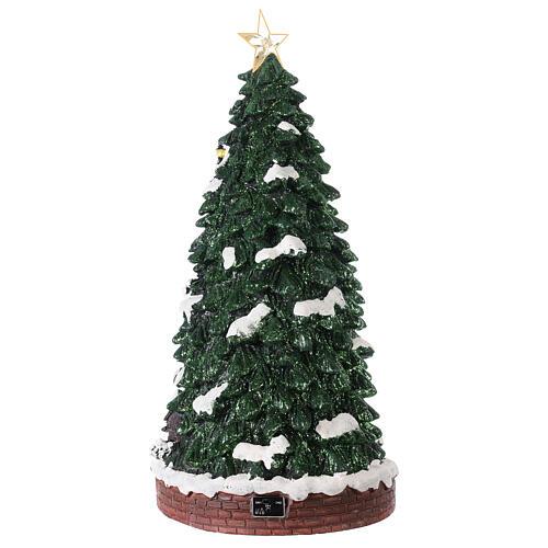 Villaggio natalizio pista pattinaggio 40x20x20 cm 4