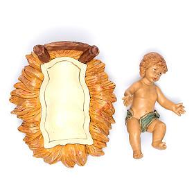 Dzieciątko w żłóbku 45 cm s4