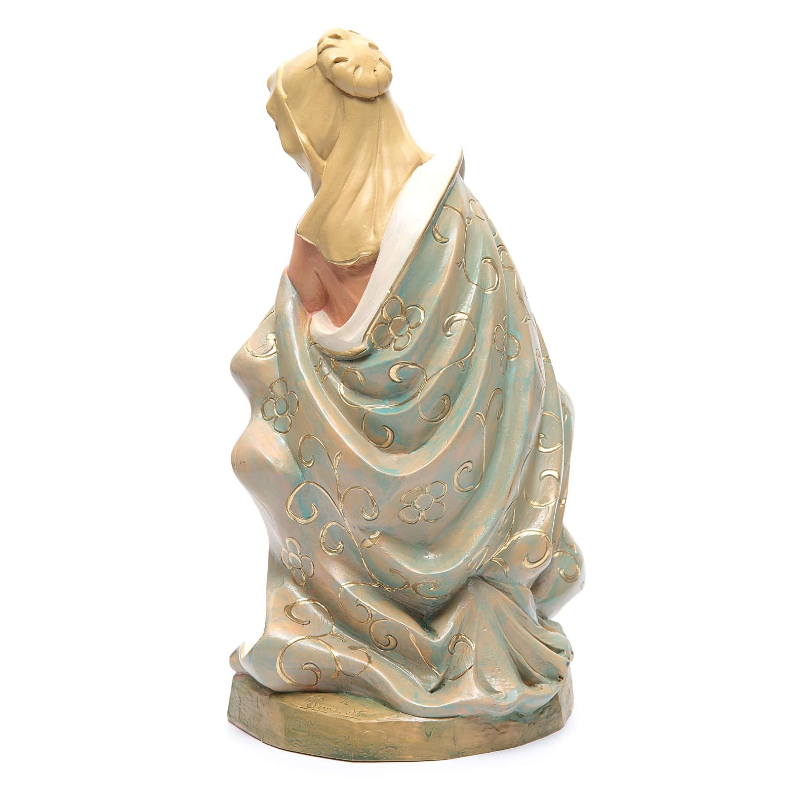 Virgen para belén 45 cm 3