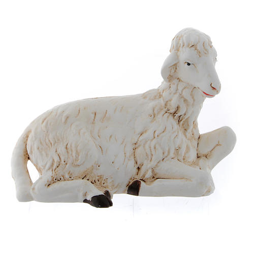 Sheep for nativity scene set of 3 pieces 4