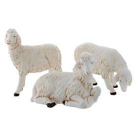 Owieczki do szopki zestaw 3 sztuk 40-45 cm s1