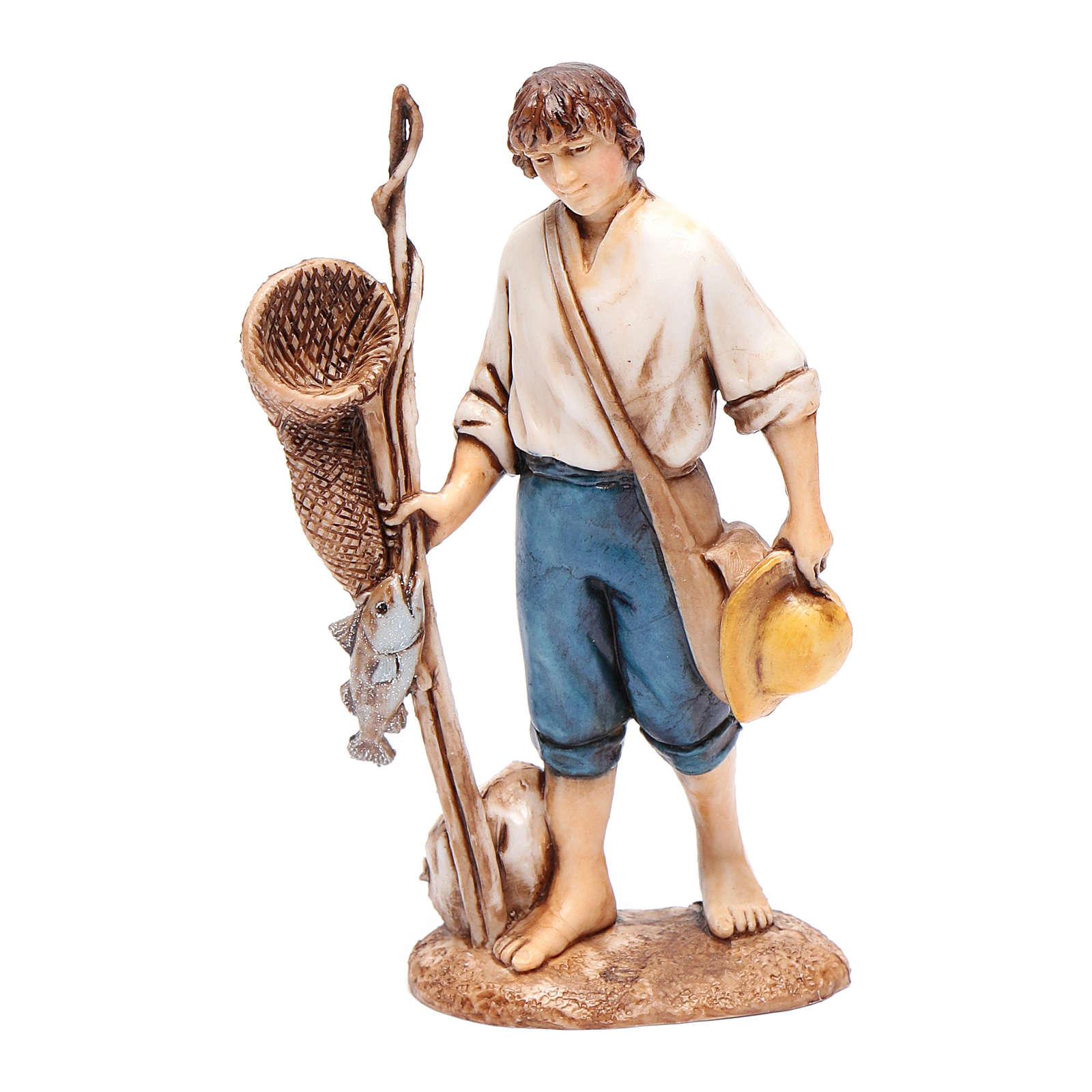 Pescatore 10 cm Moranduzzo stile settecento 4