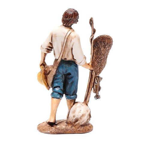 Pescatore 10 cm Moranduzzo stile settecento 2