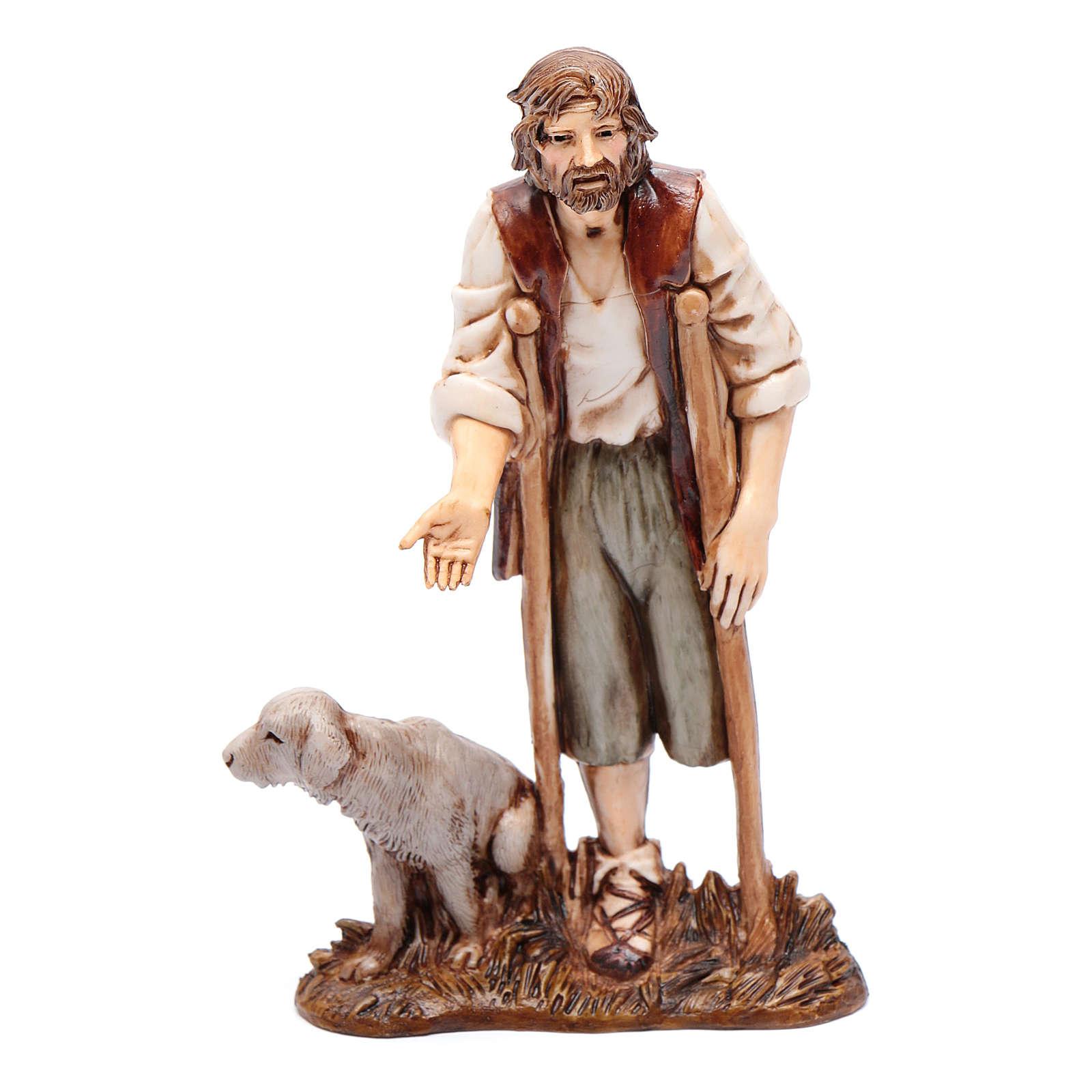 Mann mit Krücken 12cm Moranduzzo 4
