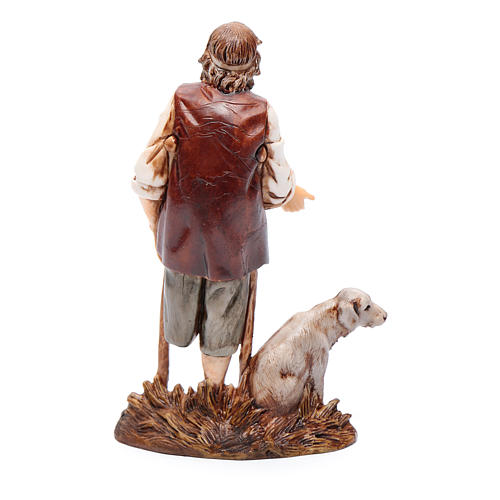 Mann mit Krücken 12cm Moranduzzo 2