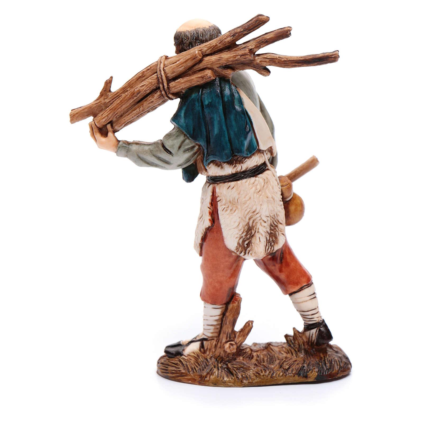 Woodcutter 12cm '700 style, Moranduzzo Nativity Scene 4