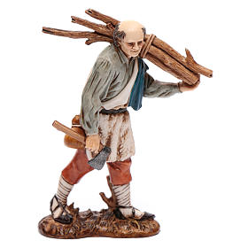 Nativity Scene by Moranduzzo: Woodcutter 12cm '700 style, Moranduzzo Nativity Scene
