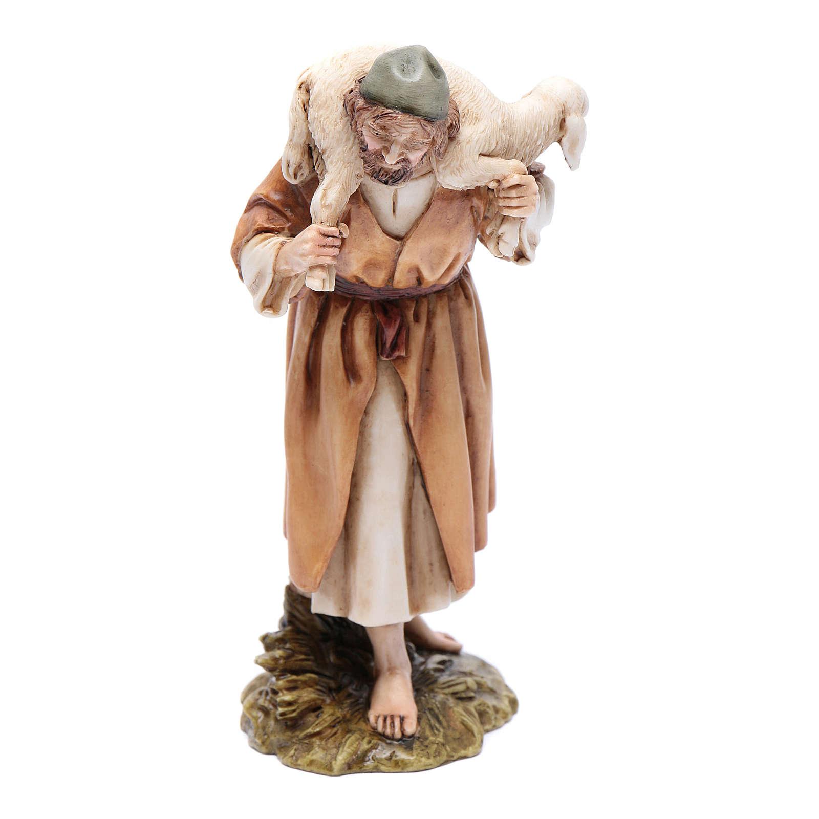 Buen pastor 15 cm resina Moranduzzo 4