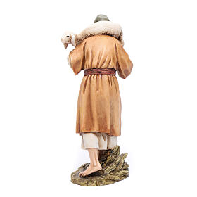 Buon pastore 15 cm resina Moranduzzo s3