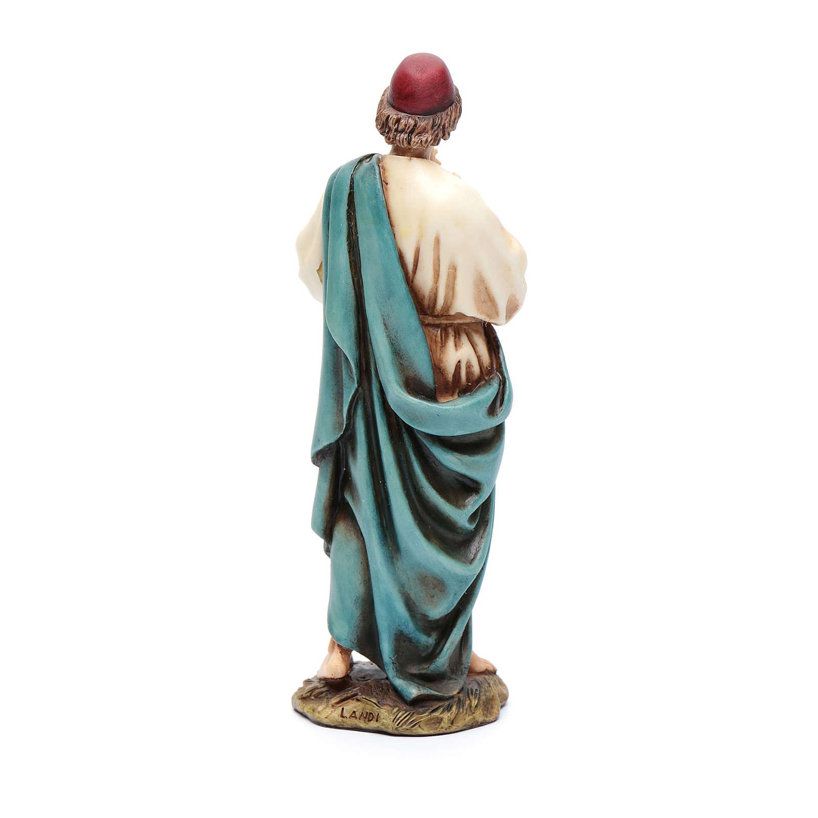 Pifferaio 15 cm resina Moranduzzo 4