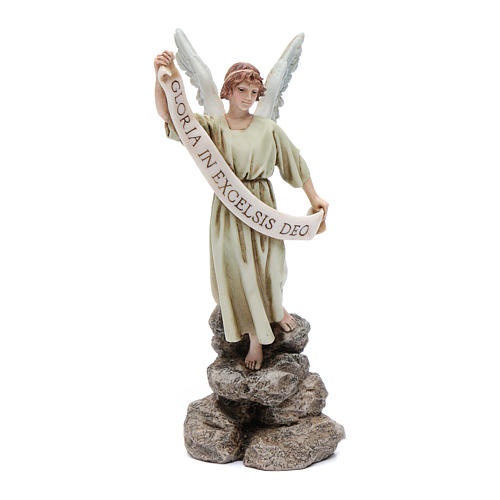 Angelo gloria 15 cm resina Moranduzzo 1
