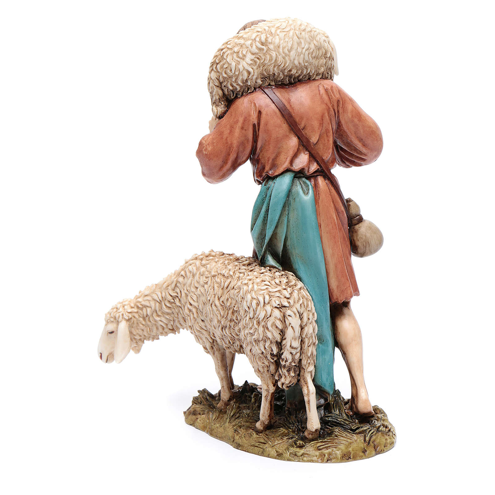 Buon pastore 20 cm resina Moranduzzo 4