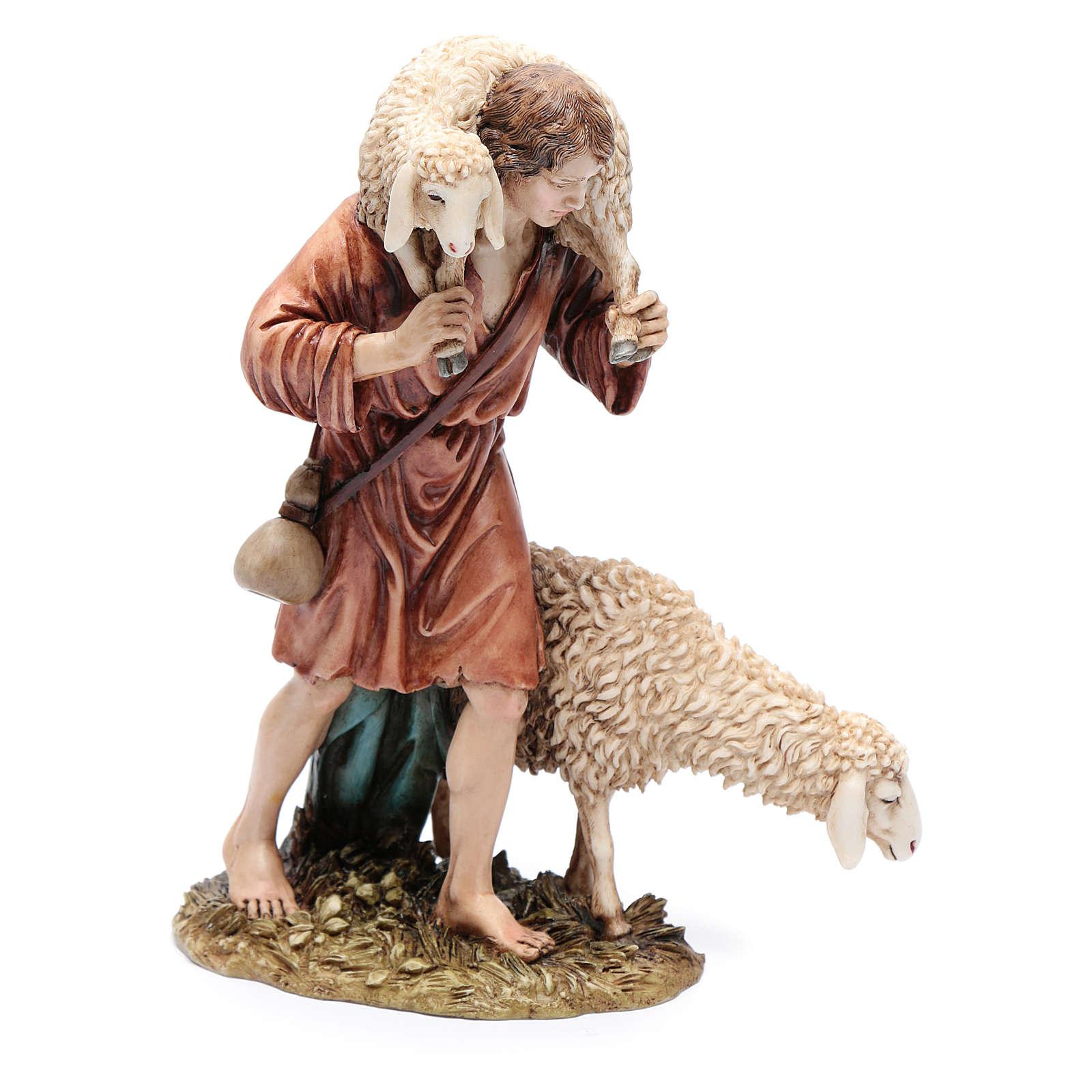 Good shepherd 20cm, Moranduzzo Nativity Scene figurine 4