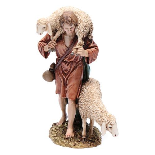 Good shepherd 20cm, Moranduzzo Nativity Scene figurine 1