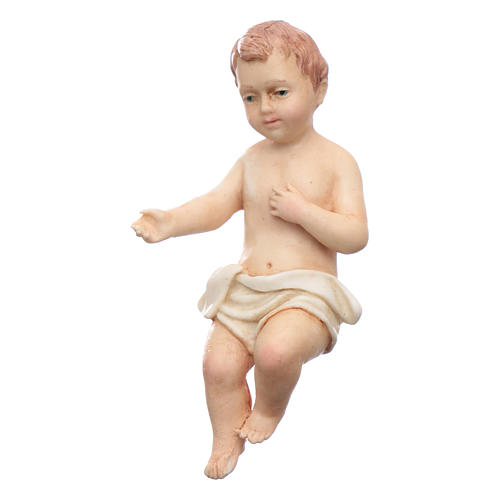 Gesù bambino resina Moranduzzo 20 cm 1