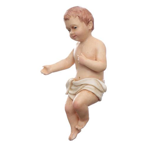 Gesù bambino resina Moranduzzo 20 cm 2