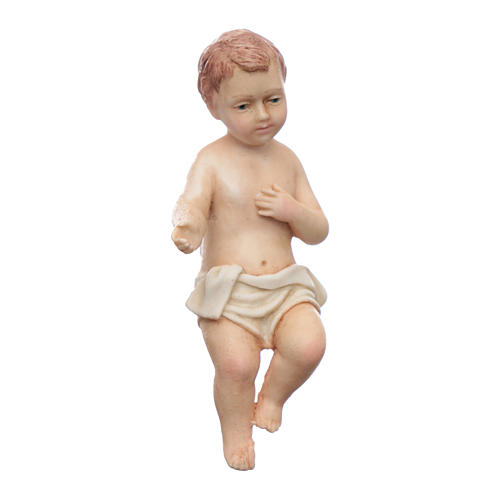 Gesù bambino resina Moranduzzo 20 cm 3