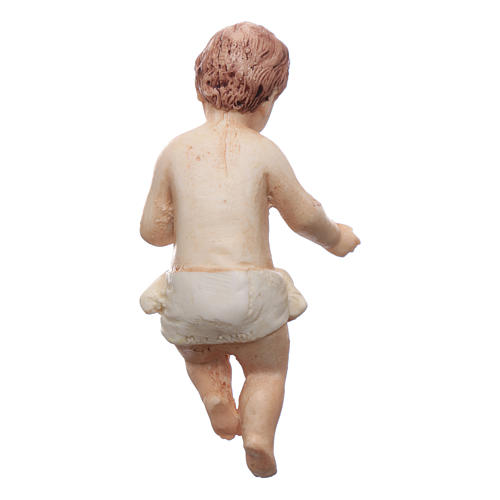 Gesù bambino resina Moranduzzo 20 cm 4