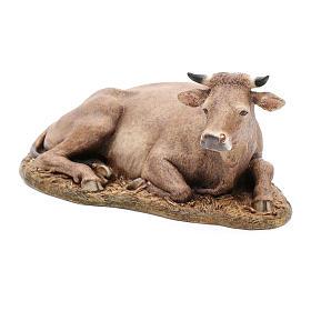 Ox statue in resin 20 cm Moranduzzo s2