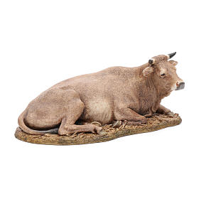 Ox statue in resin 20 cm Moranduzzo s4
