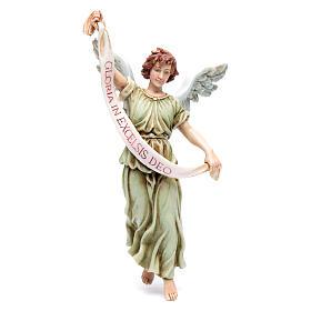 Szopka Moranduzzo: Anioł Gloria żywica 20 cm Moranduzzo