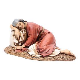 Hombre dormido 20 cm resina Moranduzzo s2
