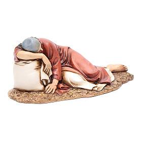 Hombre dormido 20 cm resina Moranduzzo s4