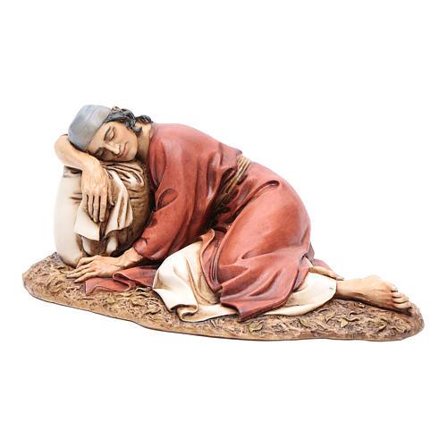 Hombre dormido 20 cm resina Moranduzzo 2