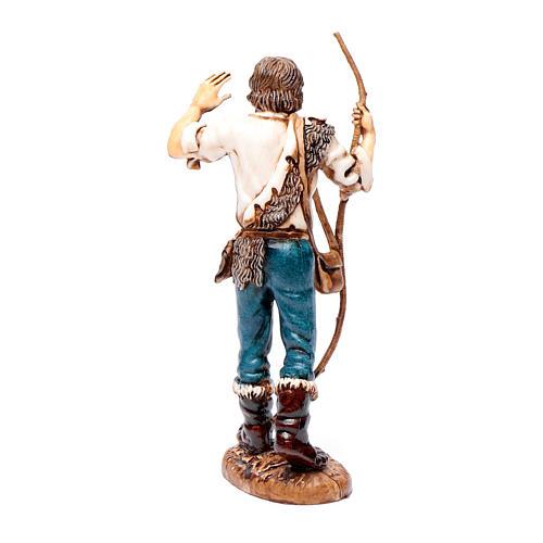 Shepherd with stick 12 cm Limited edition classic style Moranduzzo 3