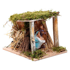 Moving classical nativity 10 cm Moranduzzo s3